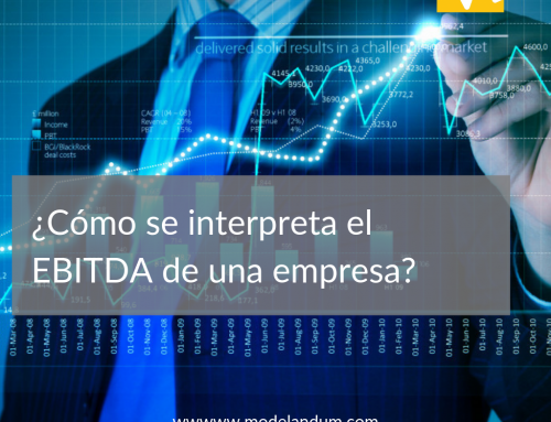 How is the EBITDA of a company interpreted?